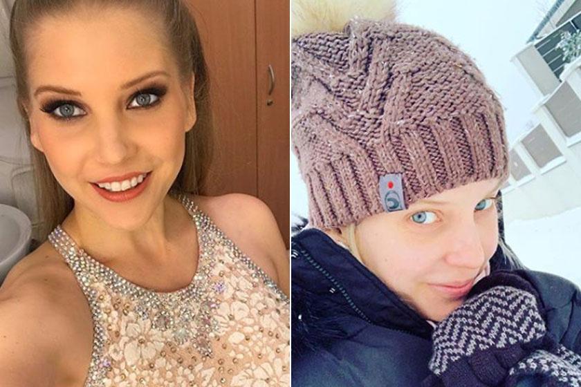 Szabó Zsófit több rajongója is megdicsérte Instagramon, hogy mennyire szép smink nélkül.