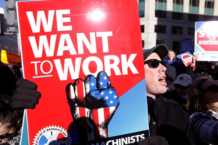 Tüntetők Washingtonban január 10-én