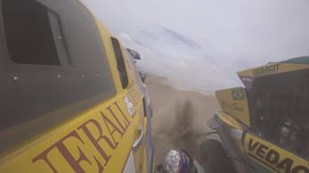 Óriási szerencséje volt a magyar Dakar-ralisnak