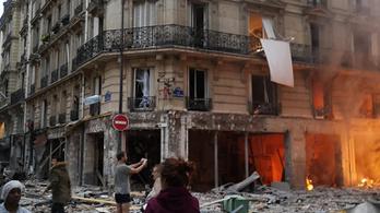 Robbanás Párizs belvárosában: már négy halott