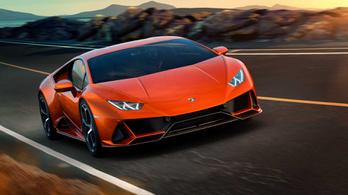Újabb eladási rekordot döntött a Lamborghini