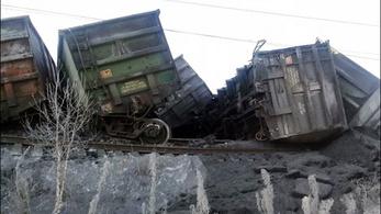 29 vagon siklott ki, leállt a Transzszibériai