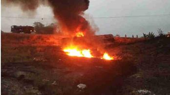 Hatvanan is meghalhattak, amikor felrobbant egy tartálykocsi Nigériában
