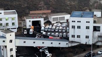 Beomlott egy szénbánya, 21 bányász meghalt