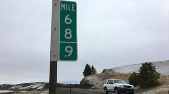 Annyiszor lopták el a 69-es táblát Washington államban, hogy ez lett helyette