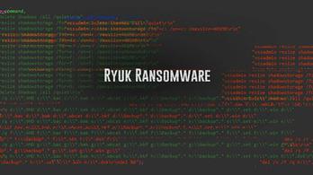 Egymilliárdot zsaroltak ki a Ryuk vírussal