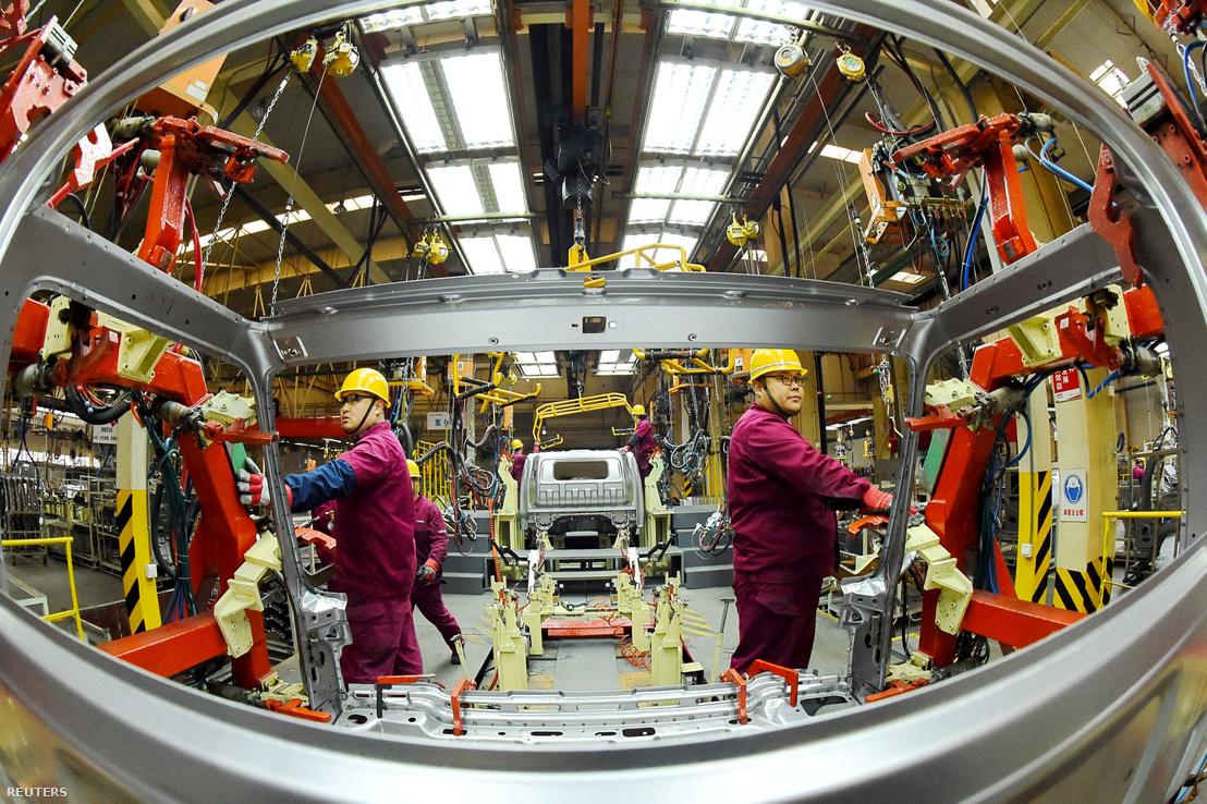 A JAC Motors teherautógyára Weifangban