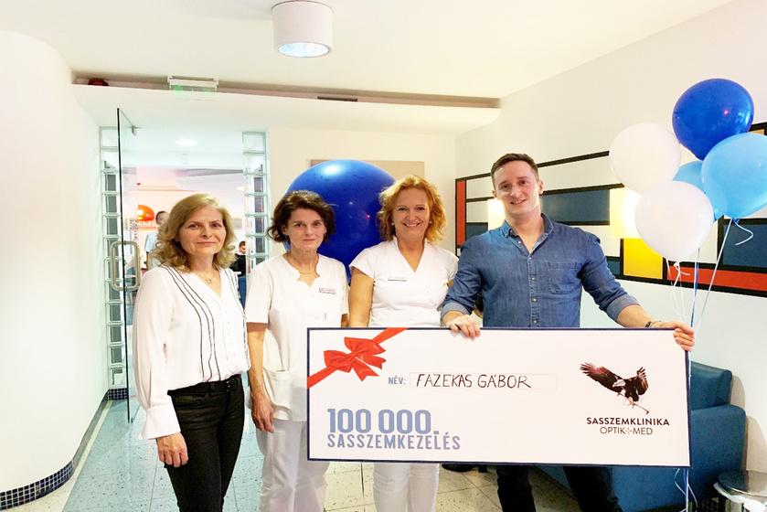 Sasszemklinika - Magyarország vezető szemészeti lézerklinikája túl a 100 000. látásjavító műtéten (x)