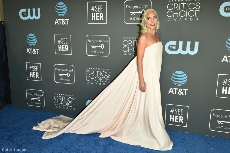 Lady Gaga megint a Csillag születik miatt volt ott