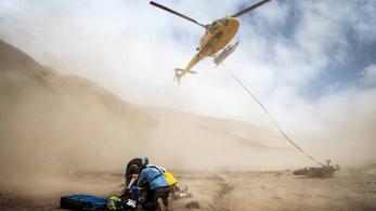 Sunderland kimaxolta a sportszerűséget a Dakaron
