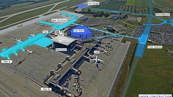 Ilyen lesz a ferihegyi repülőtér