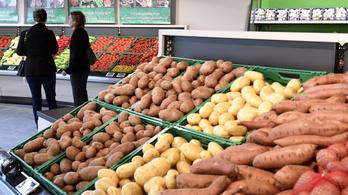 Jóval drágább lett a krumpli