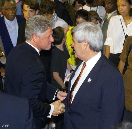 Gingrich és Clinton 98-ban