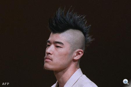 1999-ben volt az év haja a punktaraj, Yohji Yamamotonál is láttunk ilyet