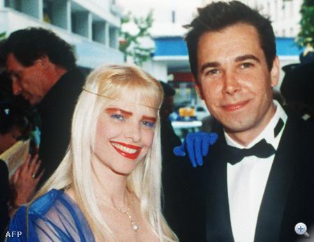 1991 - Cicciolina és férje, Jeff Koons egy AIDS-gálán