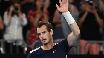 Murray négyórás meccsen búcsúzott az AusOpentől