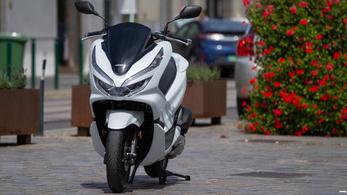 Teszt: Honda PCX125 – 2018.