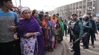 Luxusmárkákat gyártanak éhbérért, sztrájkolnak a bangladesi munkások