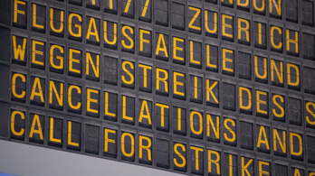 Hét budapesti járatot töröltek a német reptéri sztrájk miatt