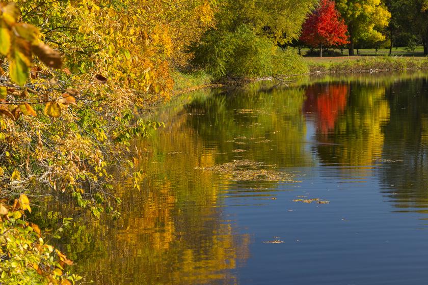 Jeff Rayburn Hopper 23 esztendősen merült alá egy tóba, bilincsekkel a kezén, 1984-ben. Bár sikerült kiszabadulnia a bilincs fogságából, levegője és ereje fogytán nem tudott felszínre úszni. A fotón halálának helyszíne, a Winona-tó látható.