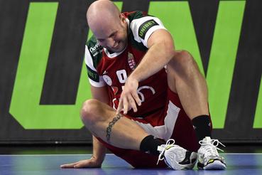 Balogh Zsolt, miután megsérült