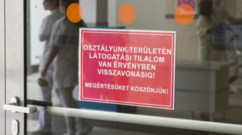 Több budapesti kórházban is látogatási tilalmat rendeltek el