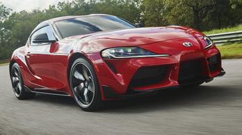 Csak megszületett az új Toyota Supra