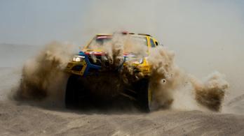 Szalayék már a 22. helyen a Dakaron