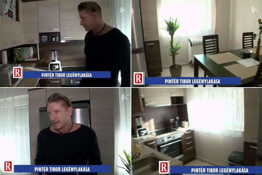77ed74a5a6 Pintér Tibor megmutatta új lakását - Itt él a szívtipró színész ...