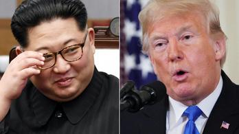 Trump levelet írt Kim Dzsongunnak