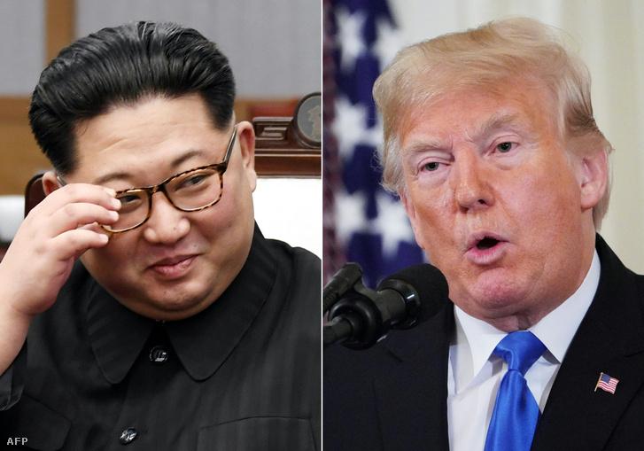 Kim Jong Un és Donald Trump
