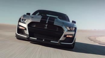 Már Mustang is van 700 lóerő felett