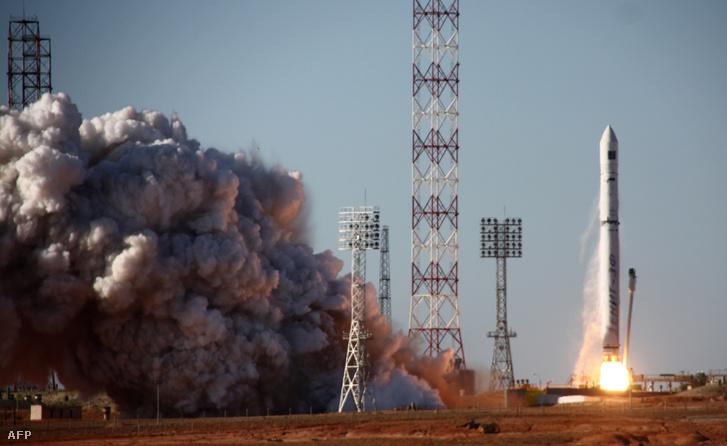 A Zenit 3F kilövése 2011-ben, ami a Spektr-R műholdat szállította