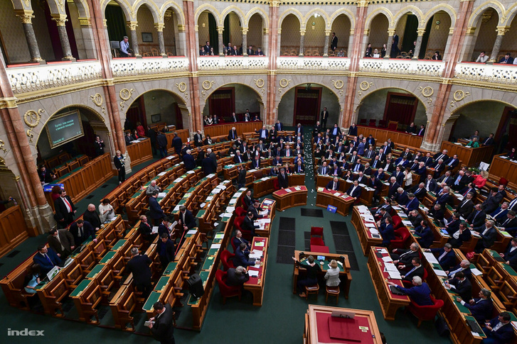 Az Országgyűlés plenáris ülése 2018. december 12-én