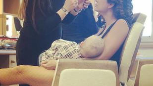 Horváth Éva megmutatta, hogy még mindig szoptatja a 20 hónapos fiát