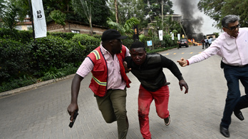 Robbanás Kenya fővárosában egy luxusszállodánál
