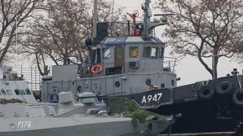 Meghosszabbította a moszkvai bíróság az ukrán tengerészek előzetes letartóztatását