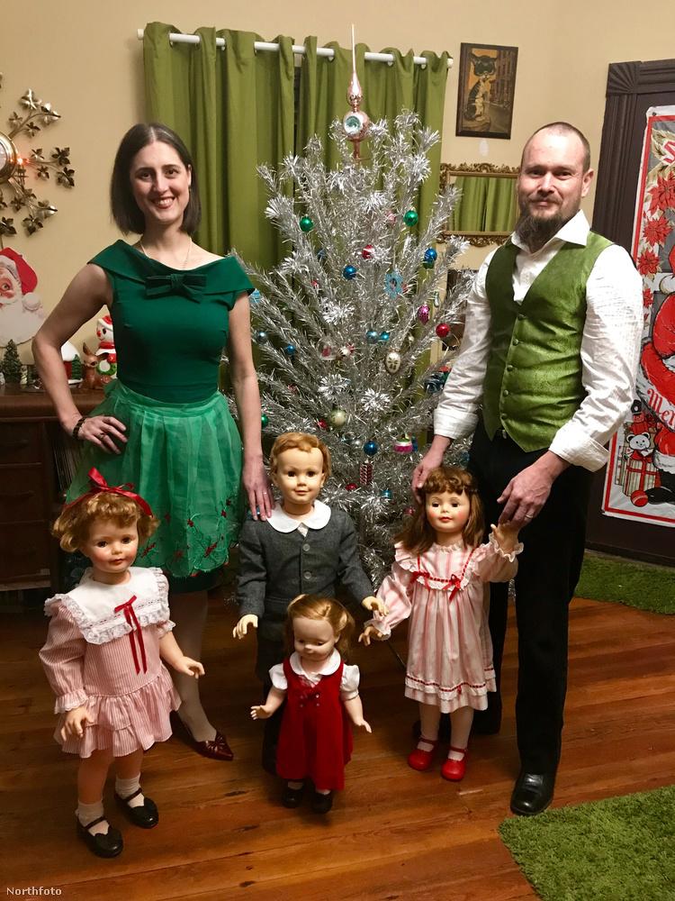 Dresselék karácsonyi családi fotójával búcsúzunk, de hadd tegyük hozzá, hogy nem ez az első ilyen projekt a praxisunkban