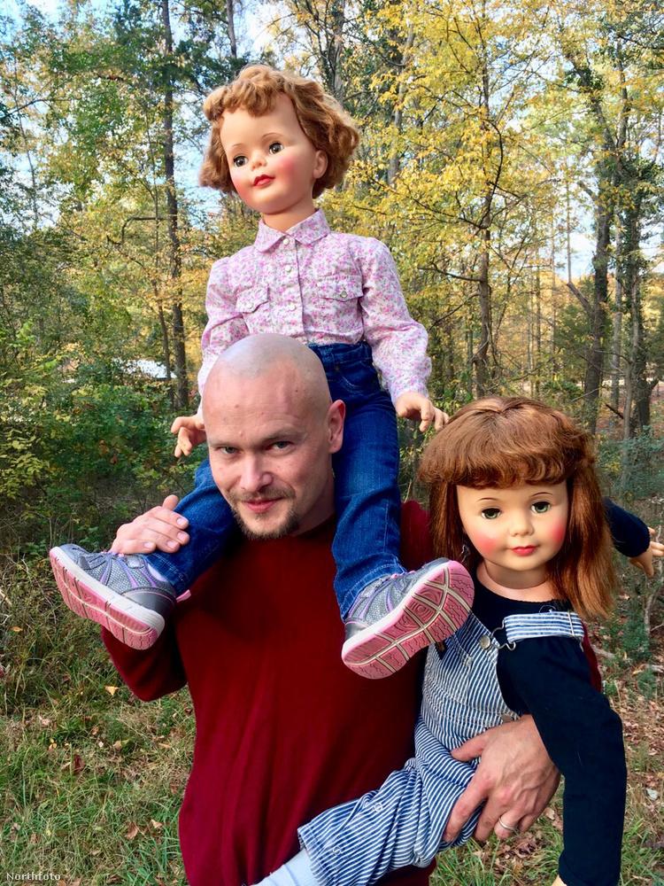 Jó hangulatban telt a közös délutáni séta az erdőben, de a gyerekek sajnos már nem bírták tovább a gyaloglást