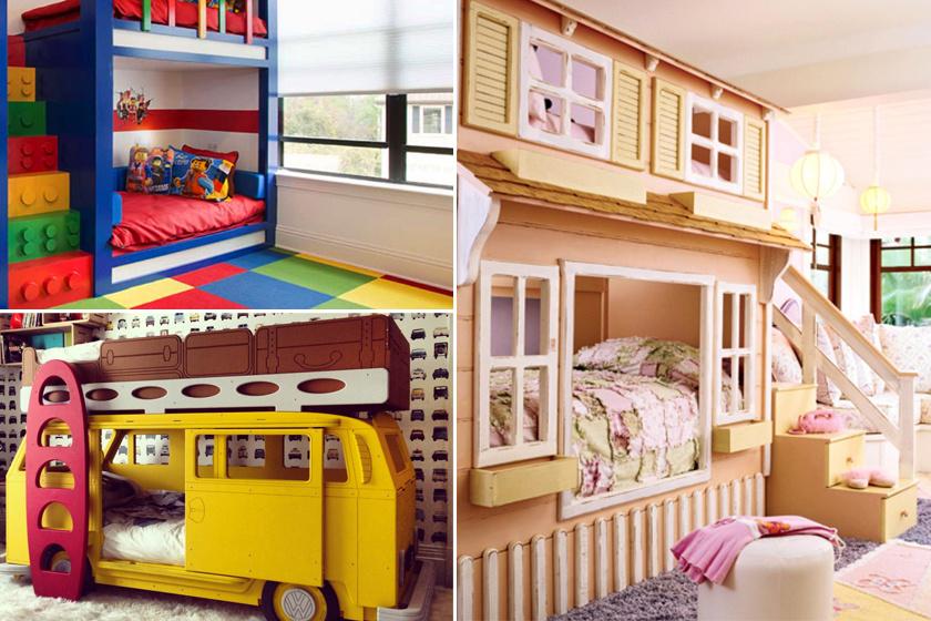 A legvagányabb emeletes ágyak, amiket valaha láttunk: elfogadnánk őket felnőttként is