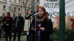 Összefogtak az ellenzéki képviselőnők Nagy Blanka gimnazistáért