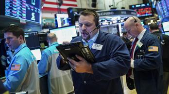 Újabb tőzsdei zuhanás jöhet az USA-ban, a befektetők többsége pesszimista