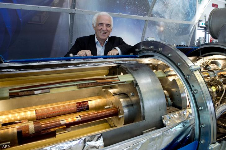 Frederick Bordry 2015-ben a genfi CERN-ben.