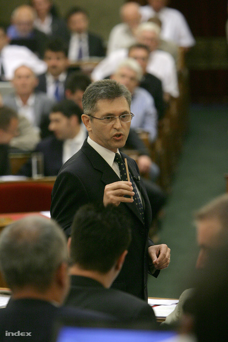 Bencsik János a parlamentben