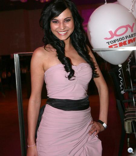 VV Anikó volt a CKM partin a legjobban öltözött.