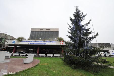 A bécsi kórház, ahol George Michaelt kezelik