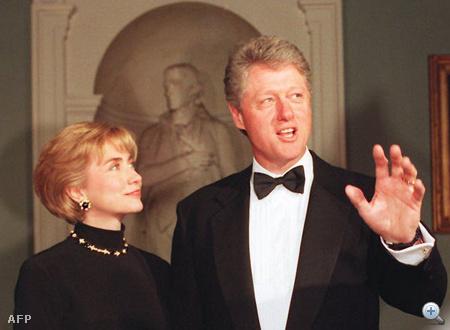 Hillary Rodham Clinton és Bill Clinton