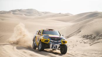 Hatalmas bravúr Szalayéktól a Dakaron, 18. helyen zárták a szakaszt