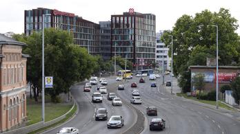 Forgalommal szemben menekült egy német audis Budapesten