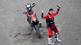A Honda nyerte a Dakart